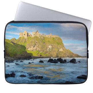 Coastal Dunluce castle, Ireland Laptop Sleeve