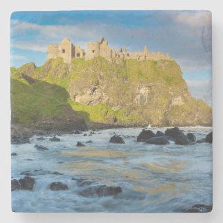 Coastal Dunluce castle, Ireland Stone Coaster