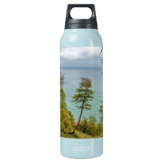 Coastal forest on the Baltic Sea coast Insulated Water Bottle