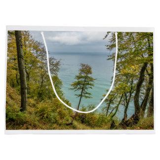 Coastal forest on the Baltic Sea coast Large Gift Bag