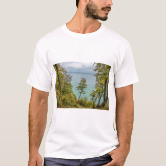 Coastal forest on the Baltic Sea coast T-Shirt