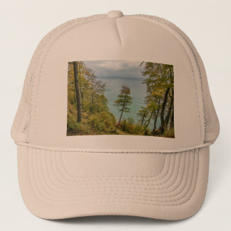 Coastal forest on the Baltic Sea coast Trucker Hat