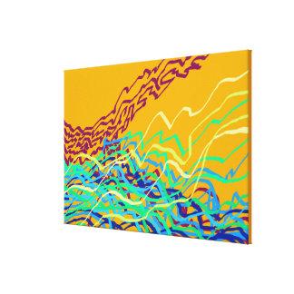 Coastal Frequencies 1 Canvas Print