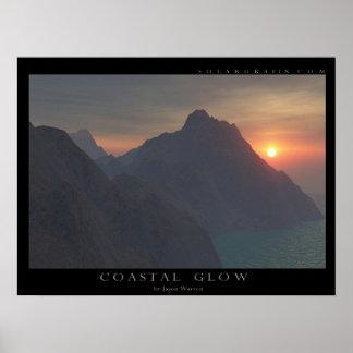 Coastal Glow Poster