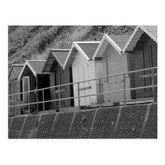 """Coastal Huts"" Postcard"