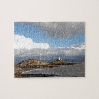 Coastal landscape and lighthouse jigsaw puzzle