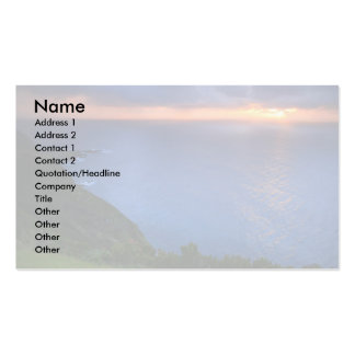 Coastal landscape Double-Sided standard business cards (Pack of 100)
