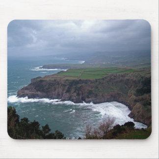 Coastal landscape mouse pad