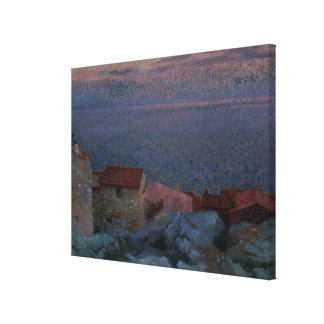 Coastal Landscape (oil on canvas) Gallery Wrapped Canvas
