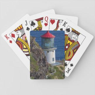 Coastal lighthouse, Hawaii Poker Deck