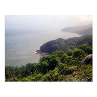 Coastal Mountain Landscape, Vietnam Postcard