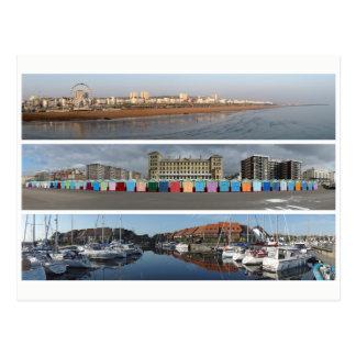 Coastal panoramas postcard