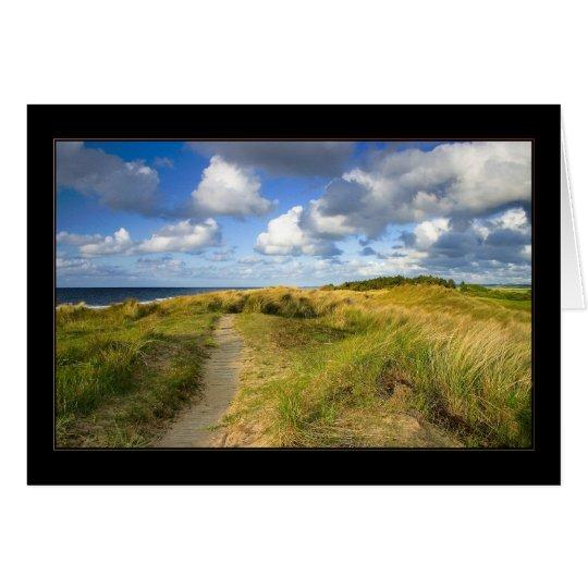 Coastal path card