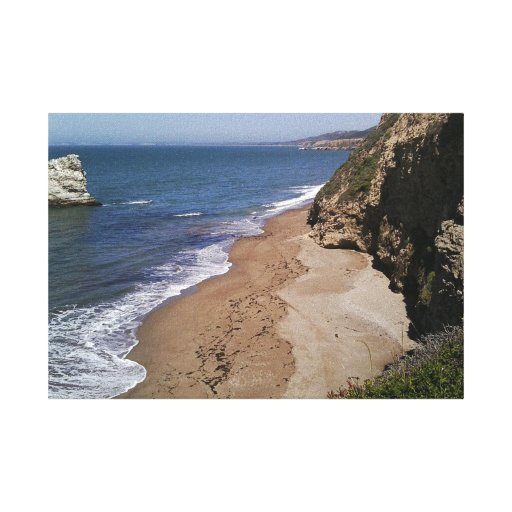 Coastal Photo on Premium Wrapped Canvas (Gloss) Gallery Wrap Canvas