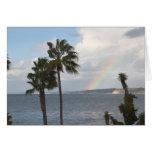Coastal Rainbow Greeting Card