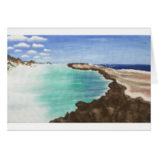 Coastal Reef Greeting Card