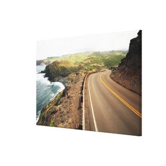 Coastal Road Canvas Print