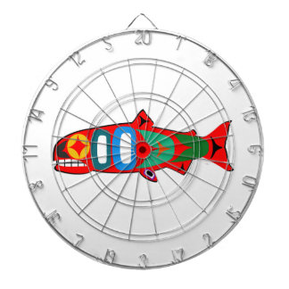 Coastal Salmon Dartboard