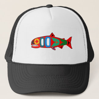 Coastal Salmon Trucker Hat