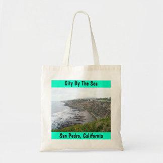 Coastal San Pedro CA City By The Sea Tote Bag Gift