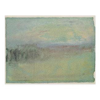 Coastal scene. c.1830 postcard