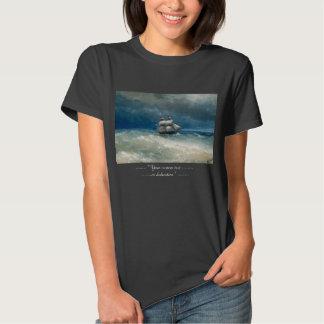 Coastal scene with Stormy Waters  Ivan Aivazovsky Tee Shirts