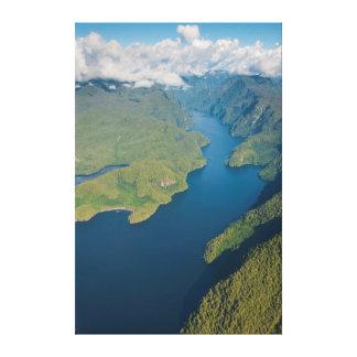 Coastal Scenery In Great Bear Rainforest Canvas Print