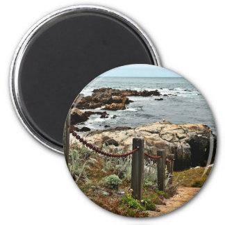 coastal steps zazzle magnet