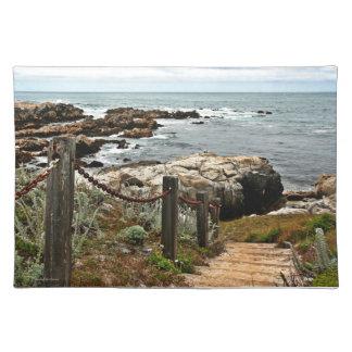 coastal steps zazzle placemat