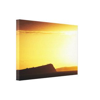 Coastal Sunrise Stretched Canvas Print