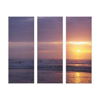 Coastal Sunrise Canvas Print