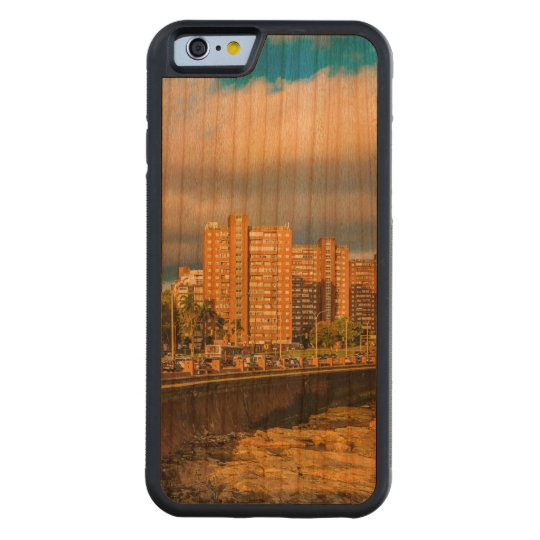 Coastal Urban Scene, Montevideo, Uruguay Carved Cherry iPhone 6 Bumper Case