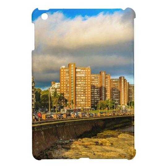 Coastal Urban Scene, Montevideo, Uruguay Case For The iPad Mini