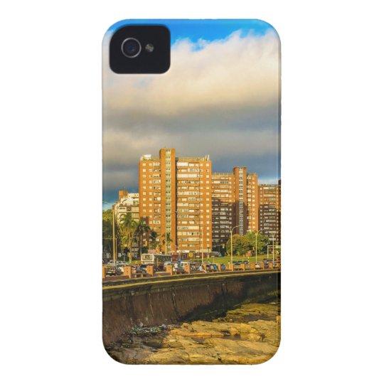 Coastal Urban Scene, Montevideo, Uruguay iPhone 4 Case-Mate Case