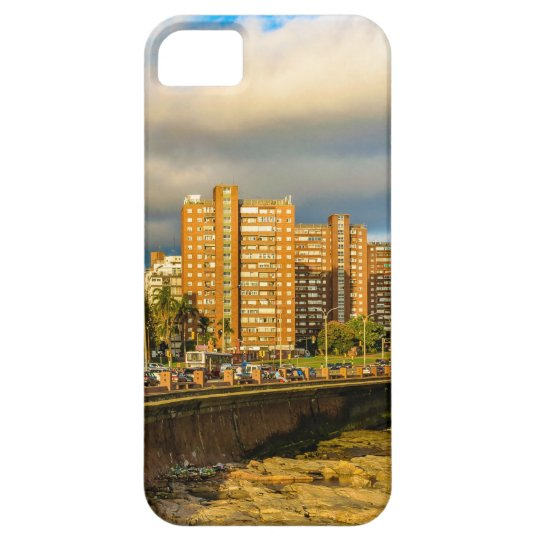 Coastal Urban Scene, Montevideo, Uruguay iPhone 5 Cover
