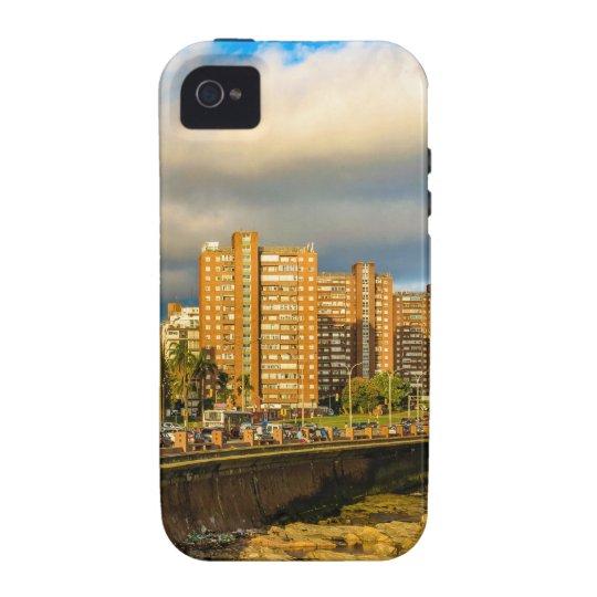 Coastal Urban Scene, Montevideo, Uruguay Vibe iPhone 4 Cover