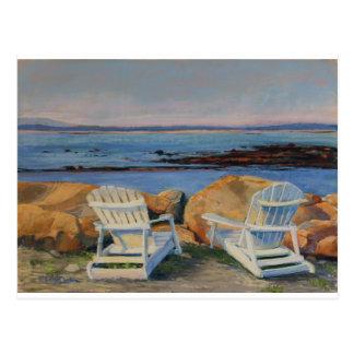 Coastal View from Adirondack Post Card