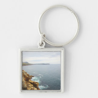 Coastal View of Acadia National Park Key Ring