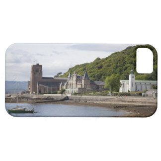 Coastal view with historic buildings, Oban, iPhone 5 Cases