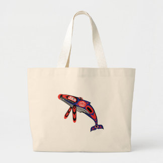 Coastal Waters Large Tote Bag