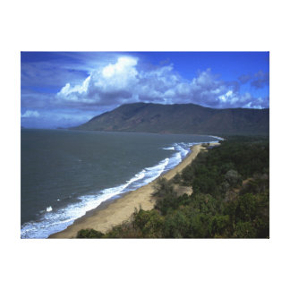 "Coastal wrap around canvas 24"" x 18"" canvas print"