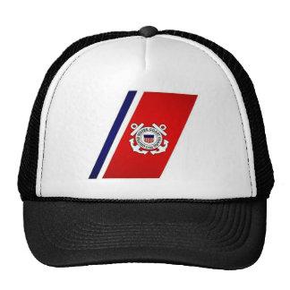 CoasteGuardstripes Cap