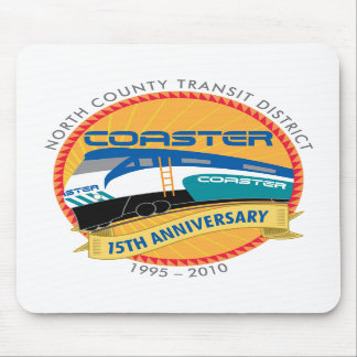Coaster 15th Anniversary Mousepad