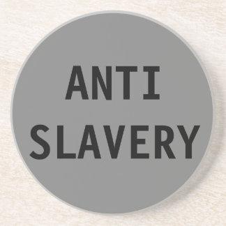 Coaster Anti Slavery Grey