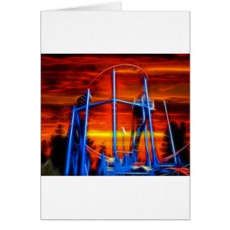 Coaster At Sunset Card