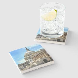 Coaster - Capitol Building Stone Beverage Coaster
