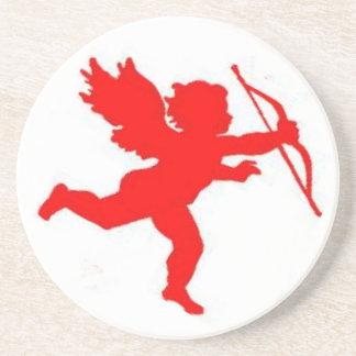 Coaster Cupid Red Plain