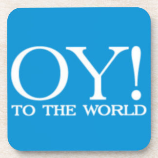 Coaster - Hanukkah Oy! to the World