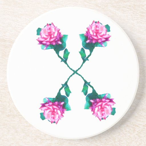 Coaster -- Hearts and Roses X's and O's