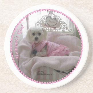 Coaster-Maltese-Momma'sGirl Coaster